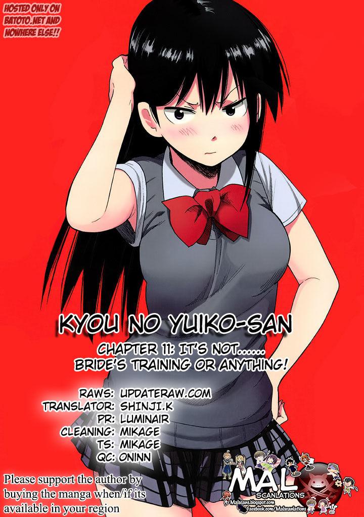 Kyou no Yuiko-san 11 Page 1