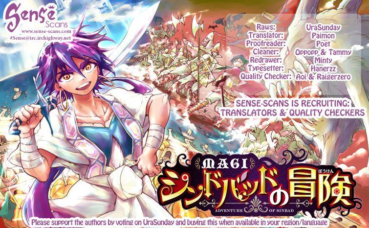 Magi - Sinbad no Bouken 10 Page 1