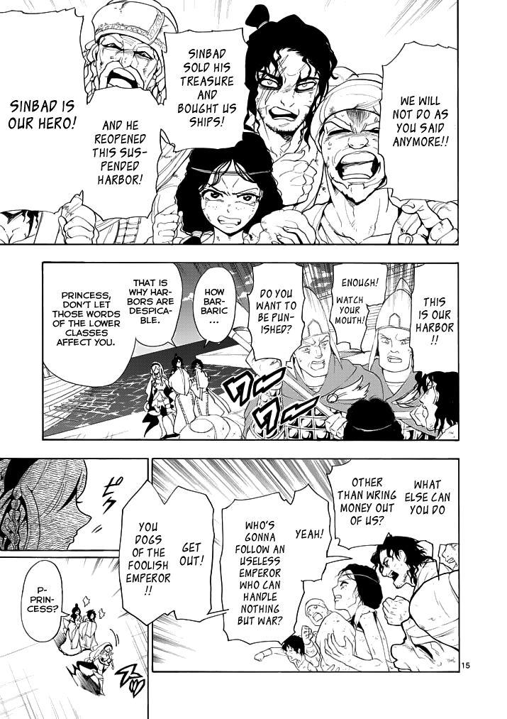 Magi - Sinbad no Bouken 12 Page 14