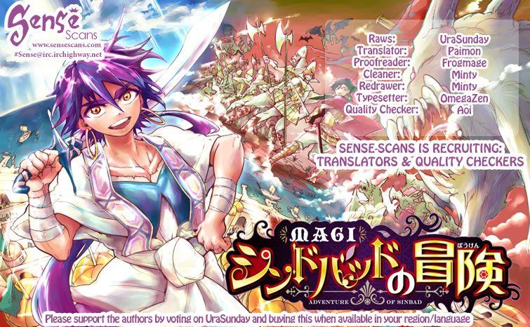 Magi - Sinbad no Bouken 16.1 Page 1