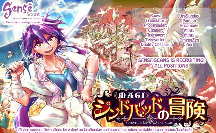 Magi - Sinbad no Bouken 18.1 Page 1