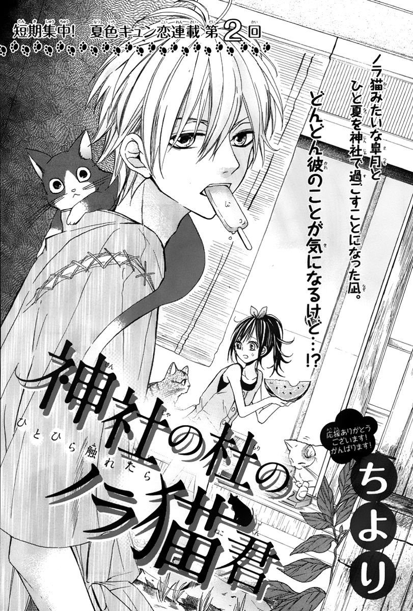 Jinja no Mori no Nora Neko-kun 2 Page 1