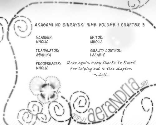 Akagami no Shirayukihime 3 Page 1