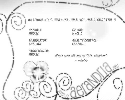 Akagami no Shirayukihime 4 Page 1
