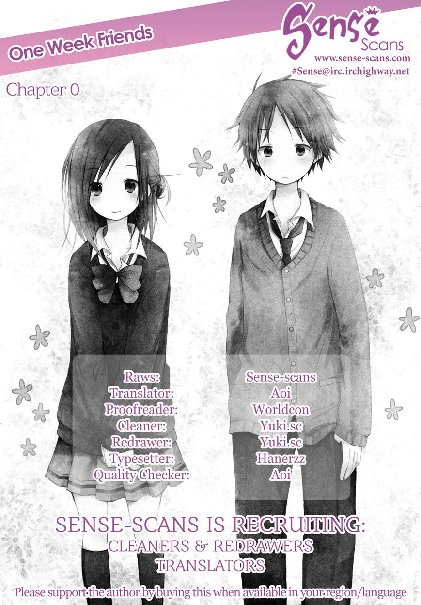 Isshuukan Friends 0 Page 1