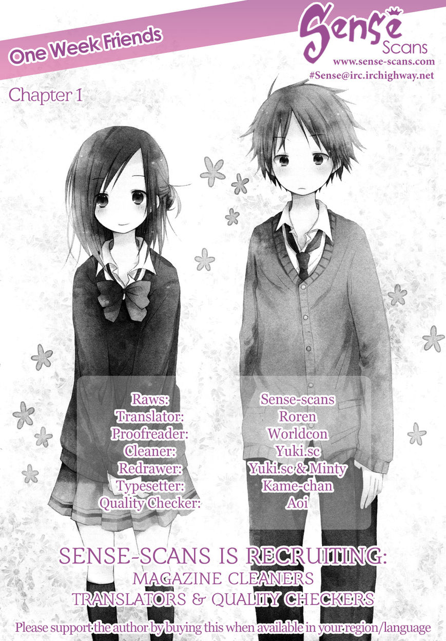 Isshuukan Friends 1 Page 1