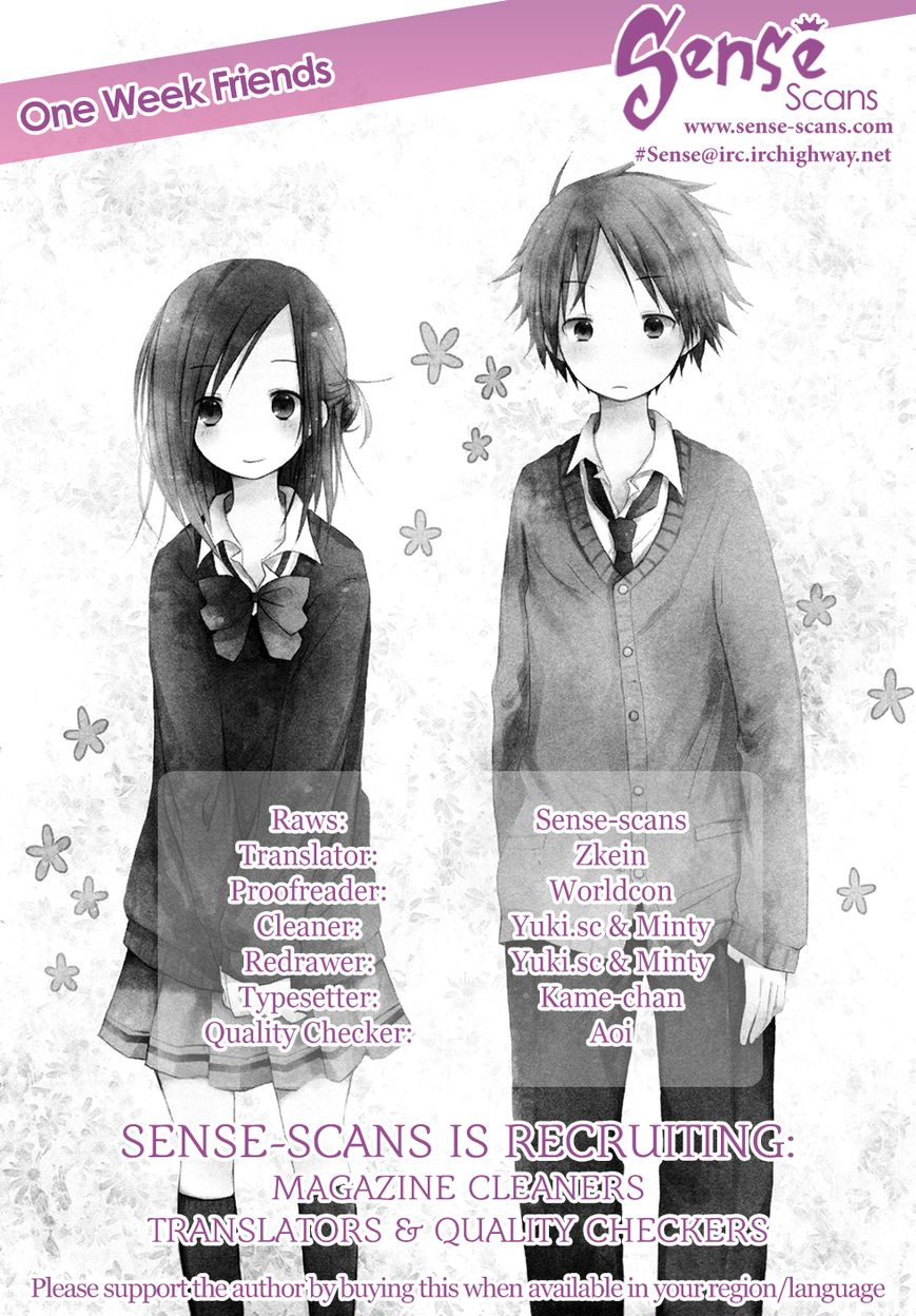 Isshuukan Friends 3 Page 1
