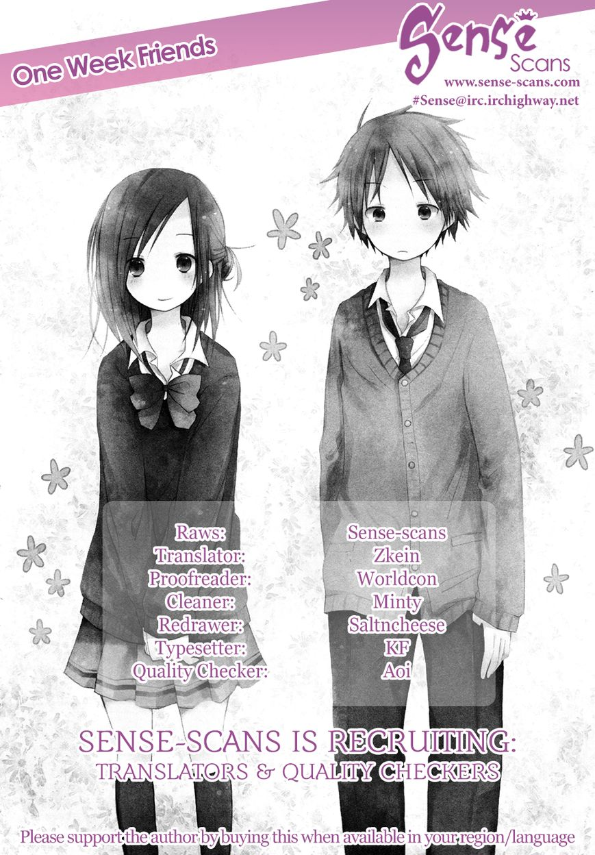 Isshuukan Friends 6 Page 1