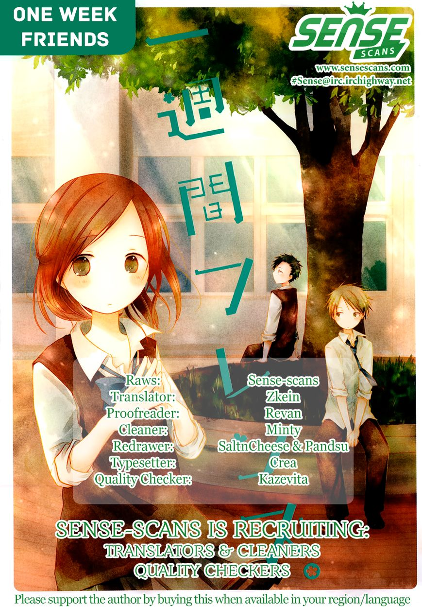 Isshuukan Friends 15 Page 1