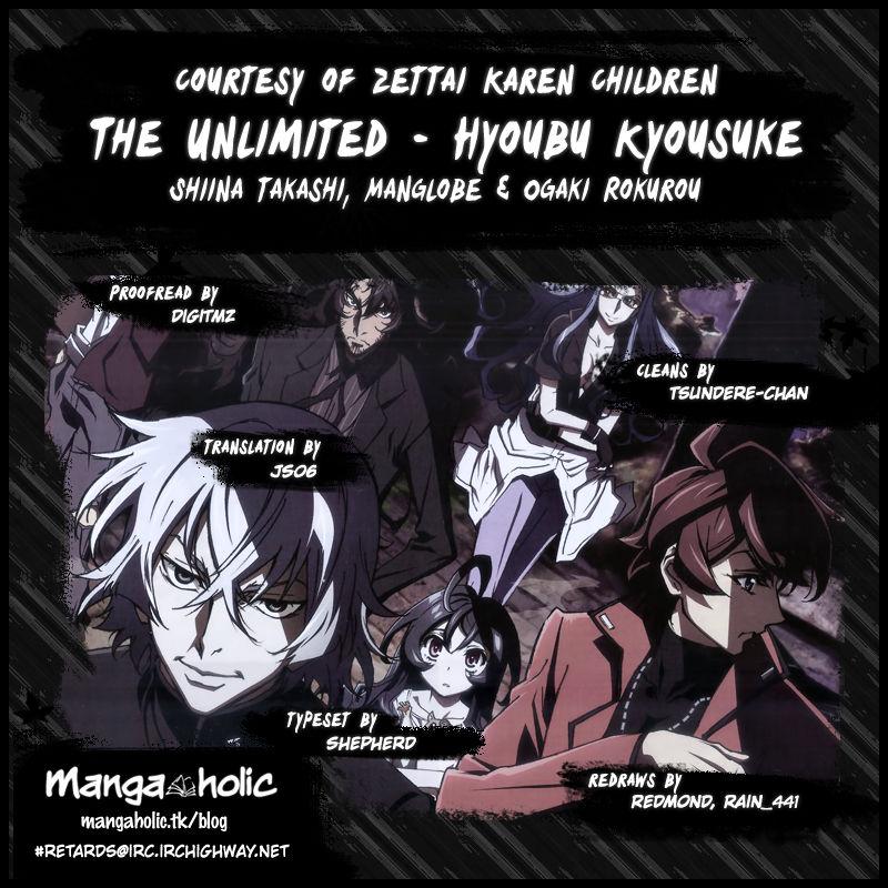 The Unlimited - Hyoubu Kyousuke 1 Page 3