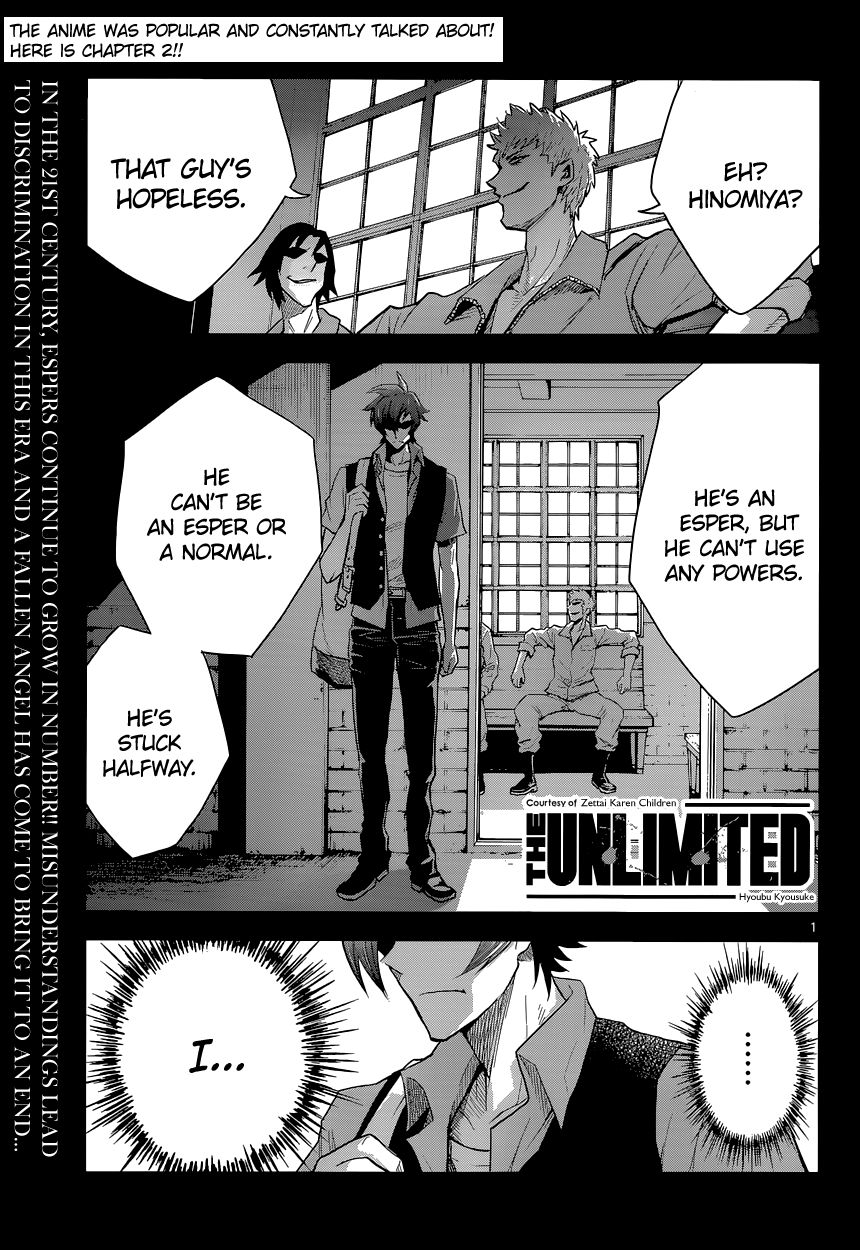 The Unlimited - Hyoubu Kyousuke 2 Page 1