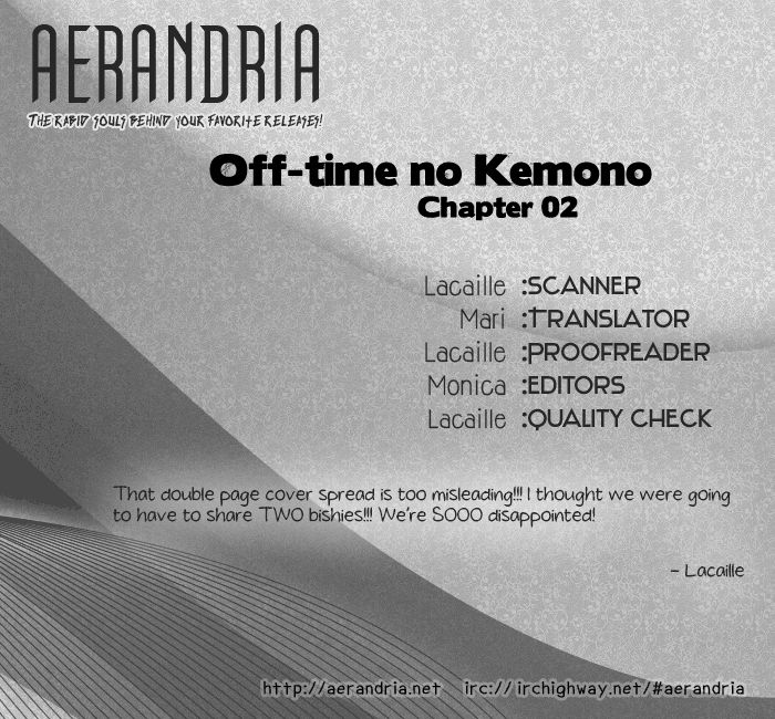Off-Time no Kemono 2 Page 2