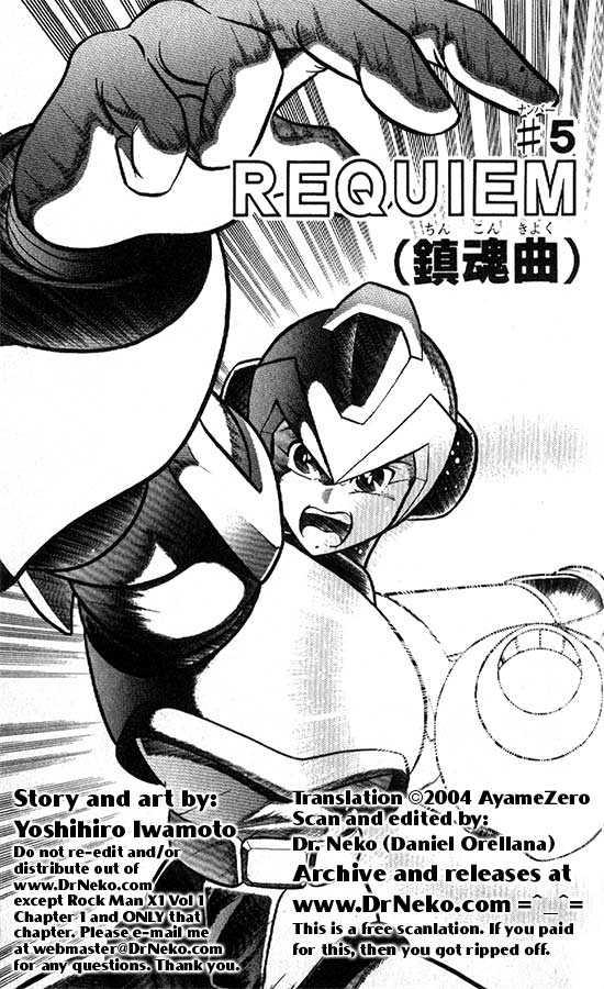 Rockman X 5 Page 1
