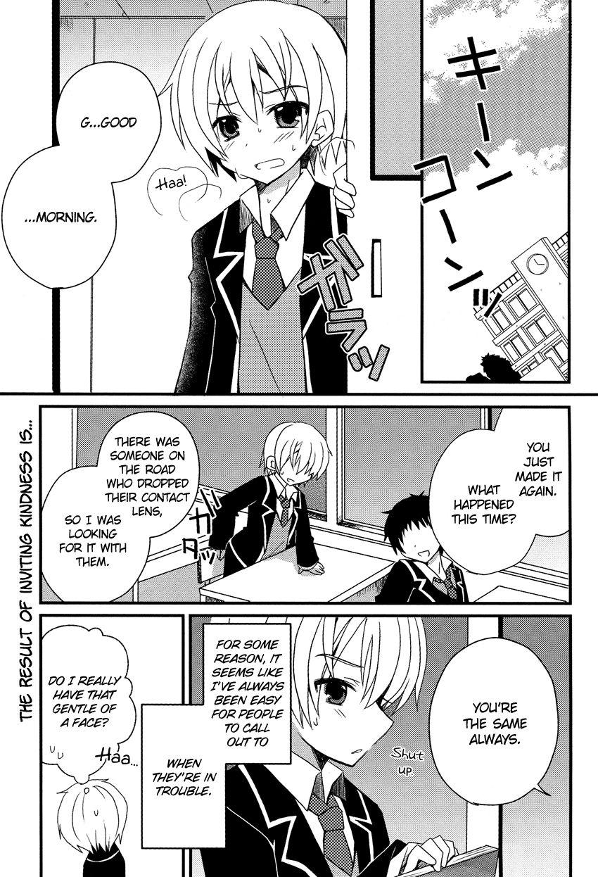 Damatte Watashi no Iu Koto Kikinasai! 1 Page 2