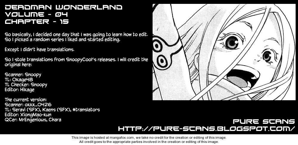 Deadman Wonderland 15 Page 1