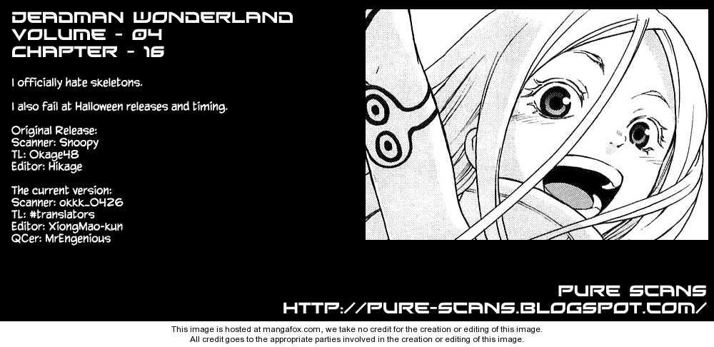 Deadman Wonderland 16 Page 1