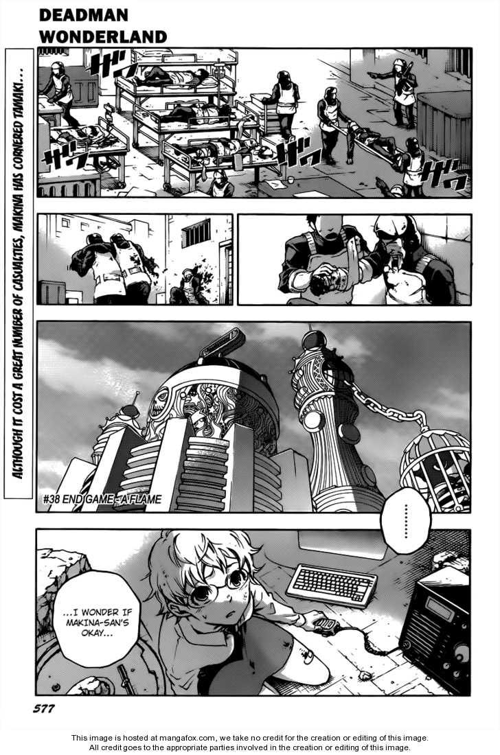 Deadman Wonderland 38.1 Page 1