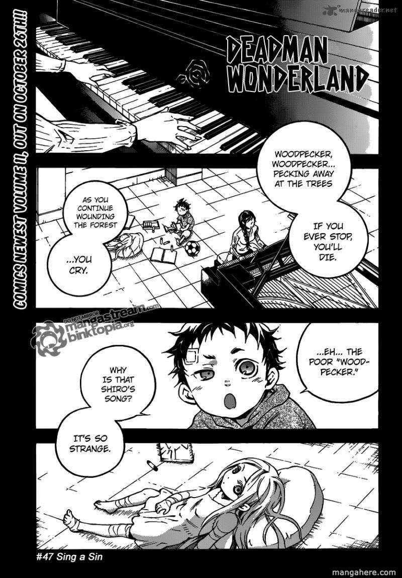 Deadman Wonderland 47 Page 1