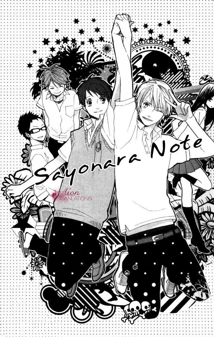 Sayonara Note 2 Page 2