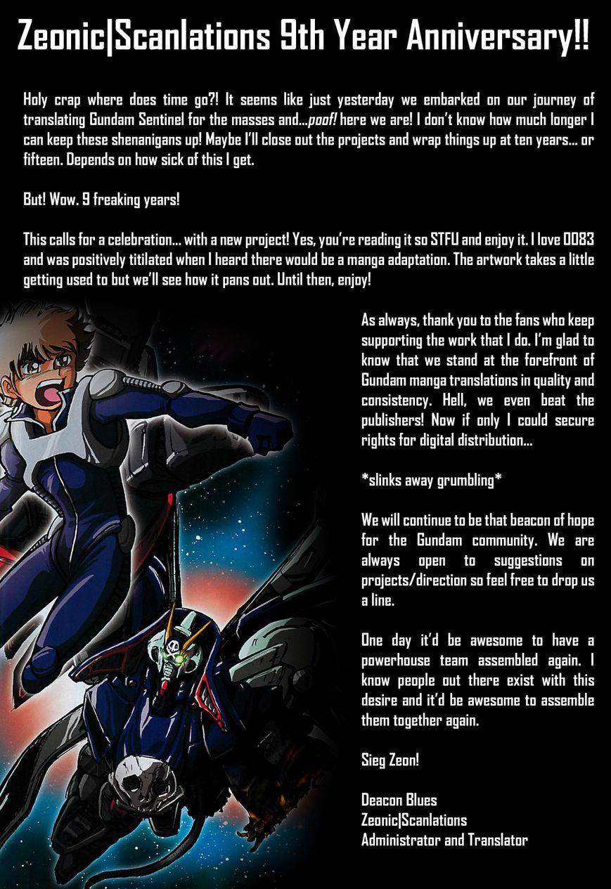 Kidou Senshi Gundam 0083 Rebellion 1 Page 1