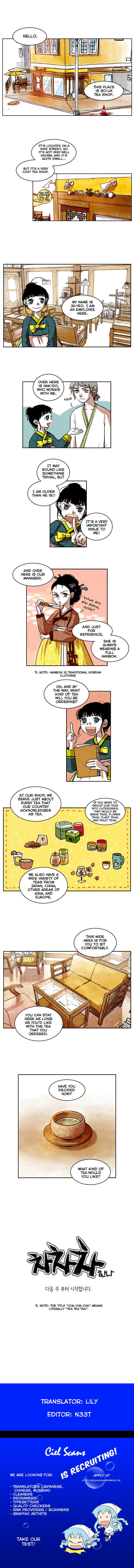 Cha Cha Cha 0 Page 1
