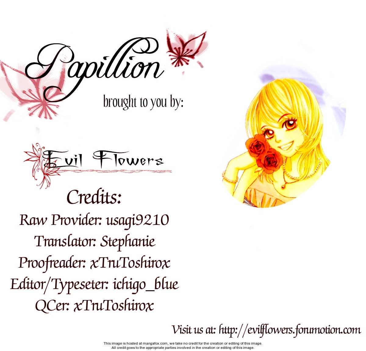 Papillon - Hana to Chou 20 Page 3