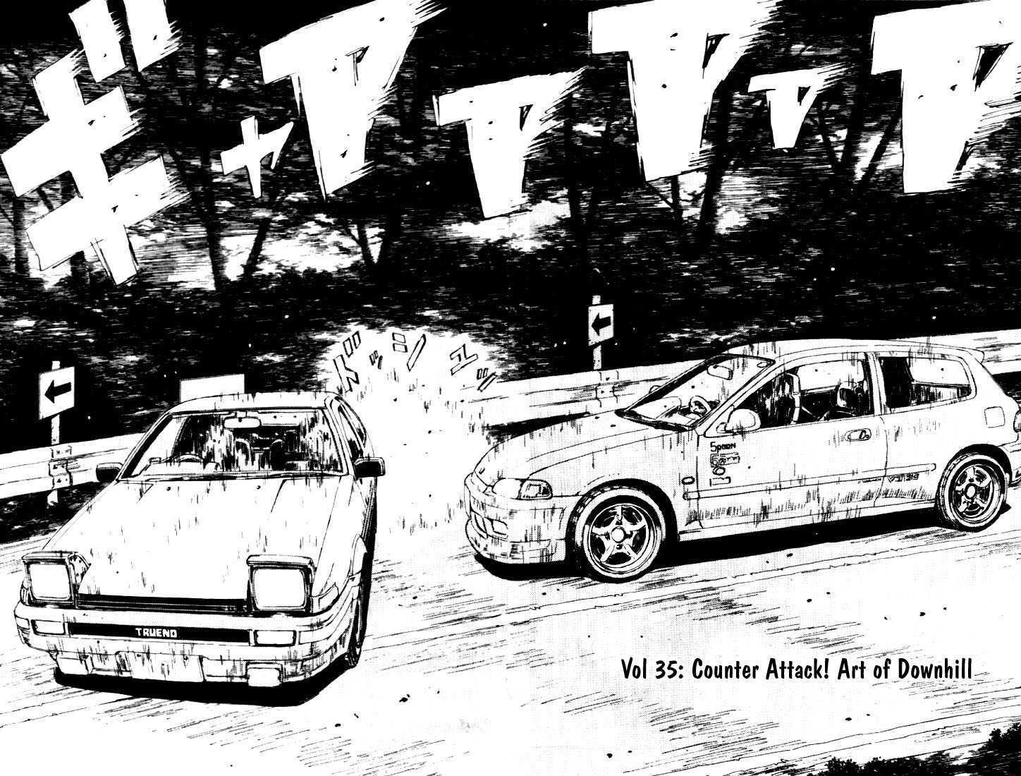 Initial D 35 Page 1
