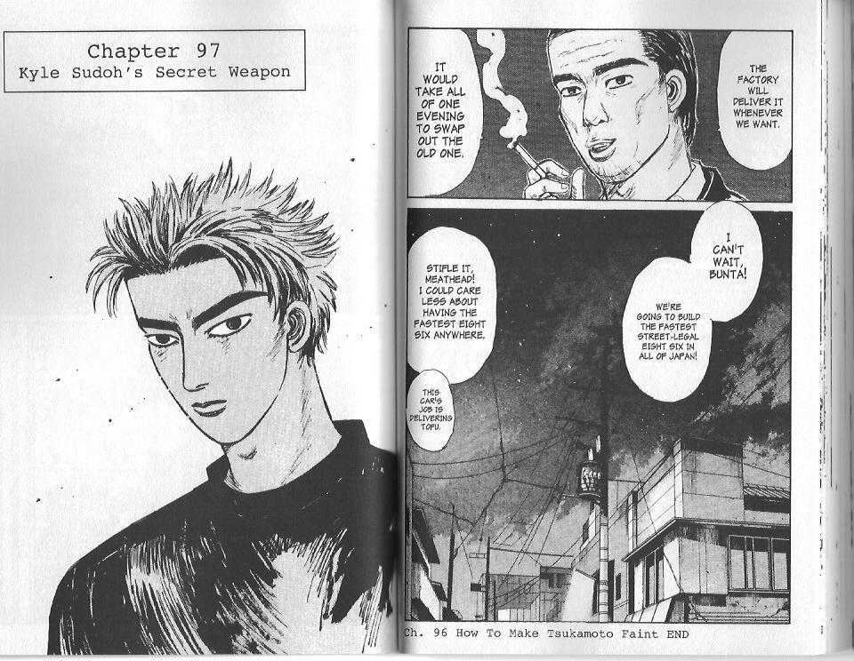 Initial D 97 Page 1