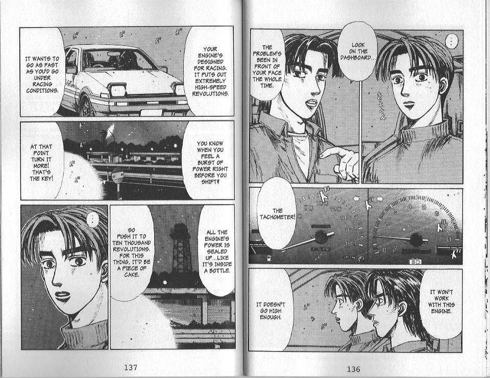 Initial D 129 Page 2