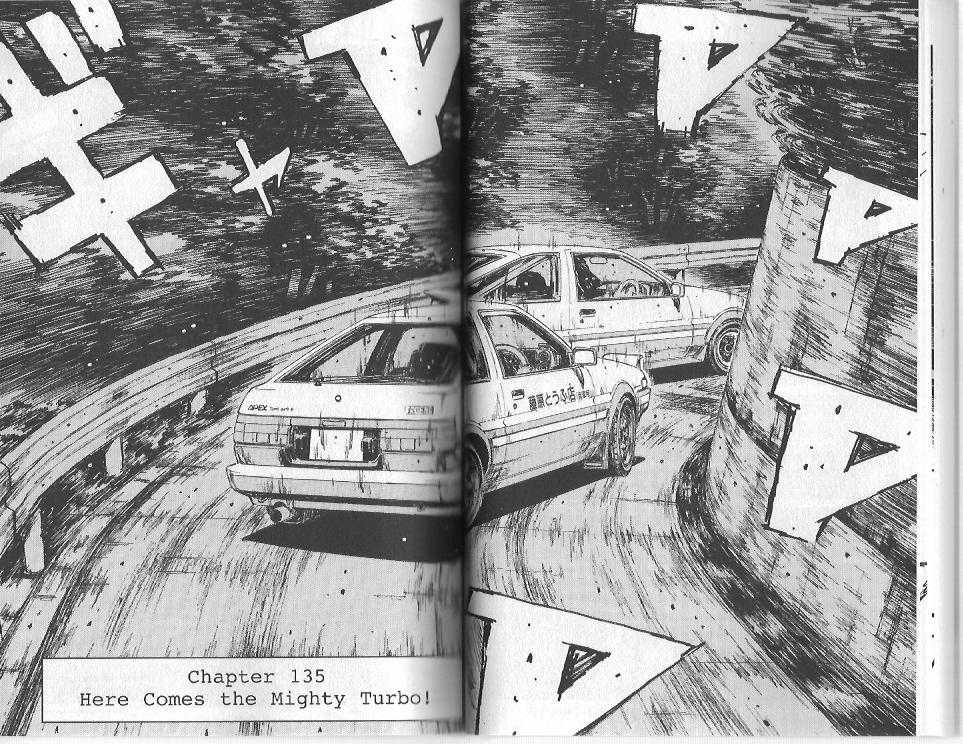 Initial D 135 Page 1