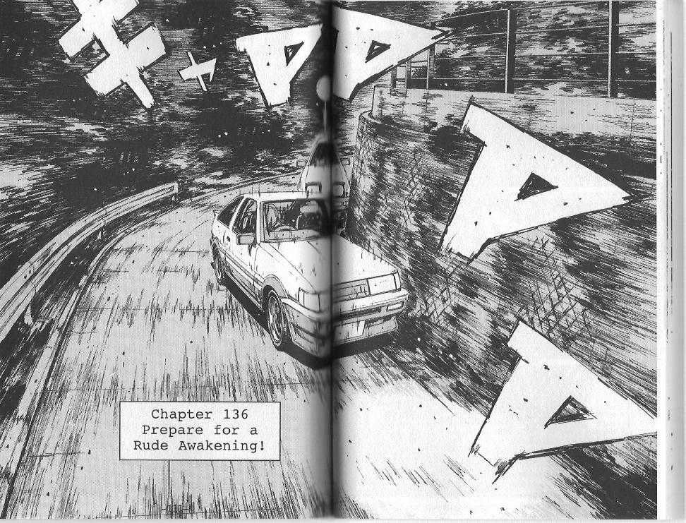 Initial D 136 Page 1