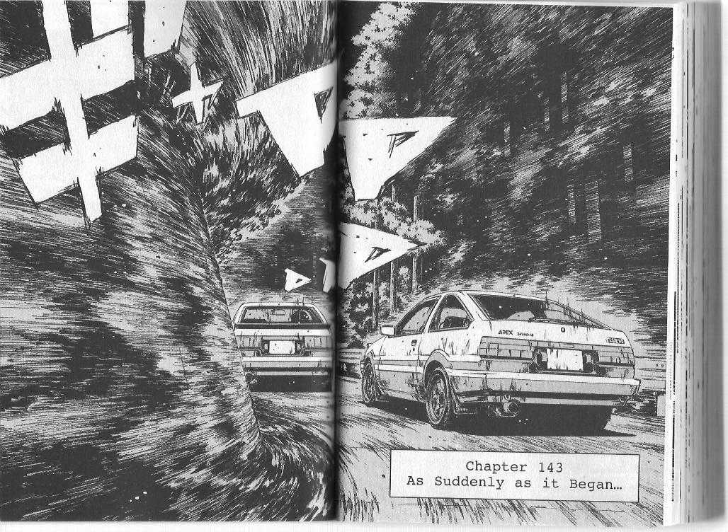Initial D 143 Page 1