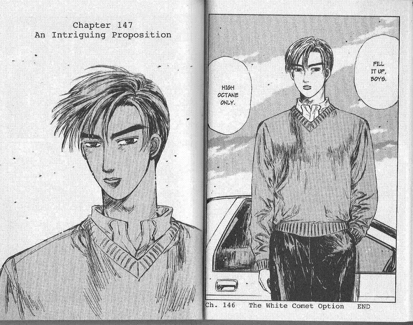 Initial D 147 Page 1