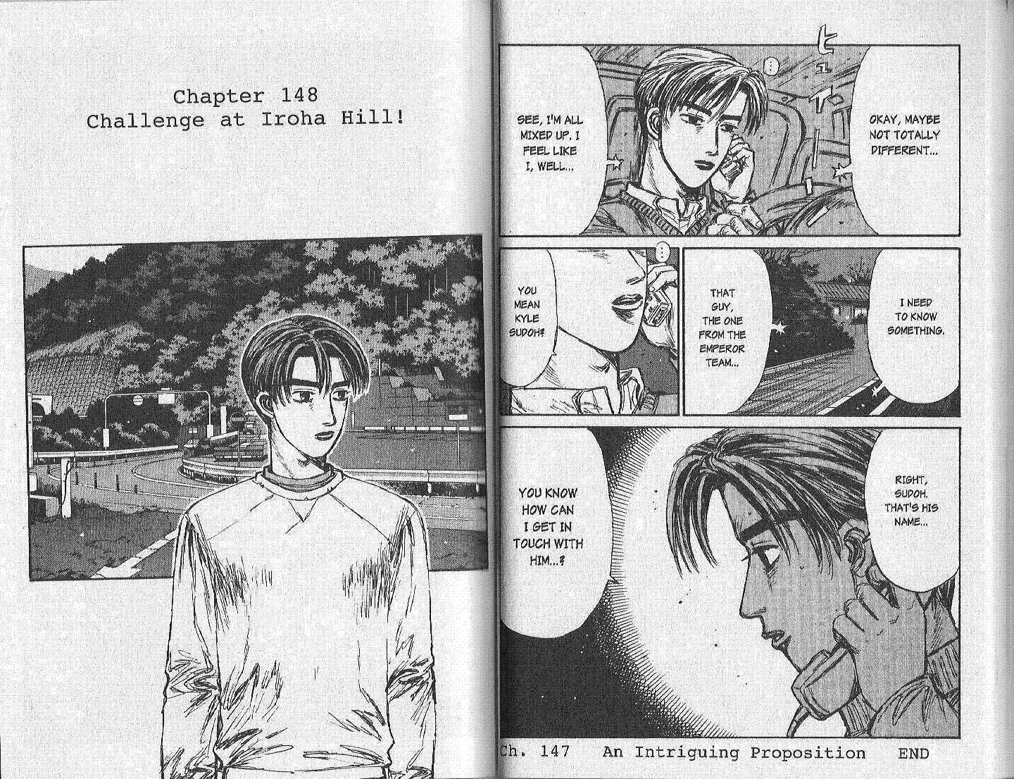 Initial D 148 Page 1