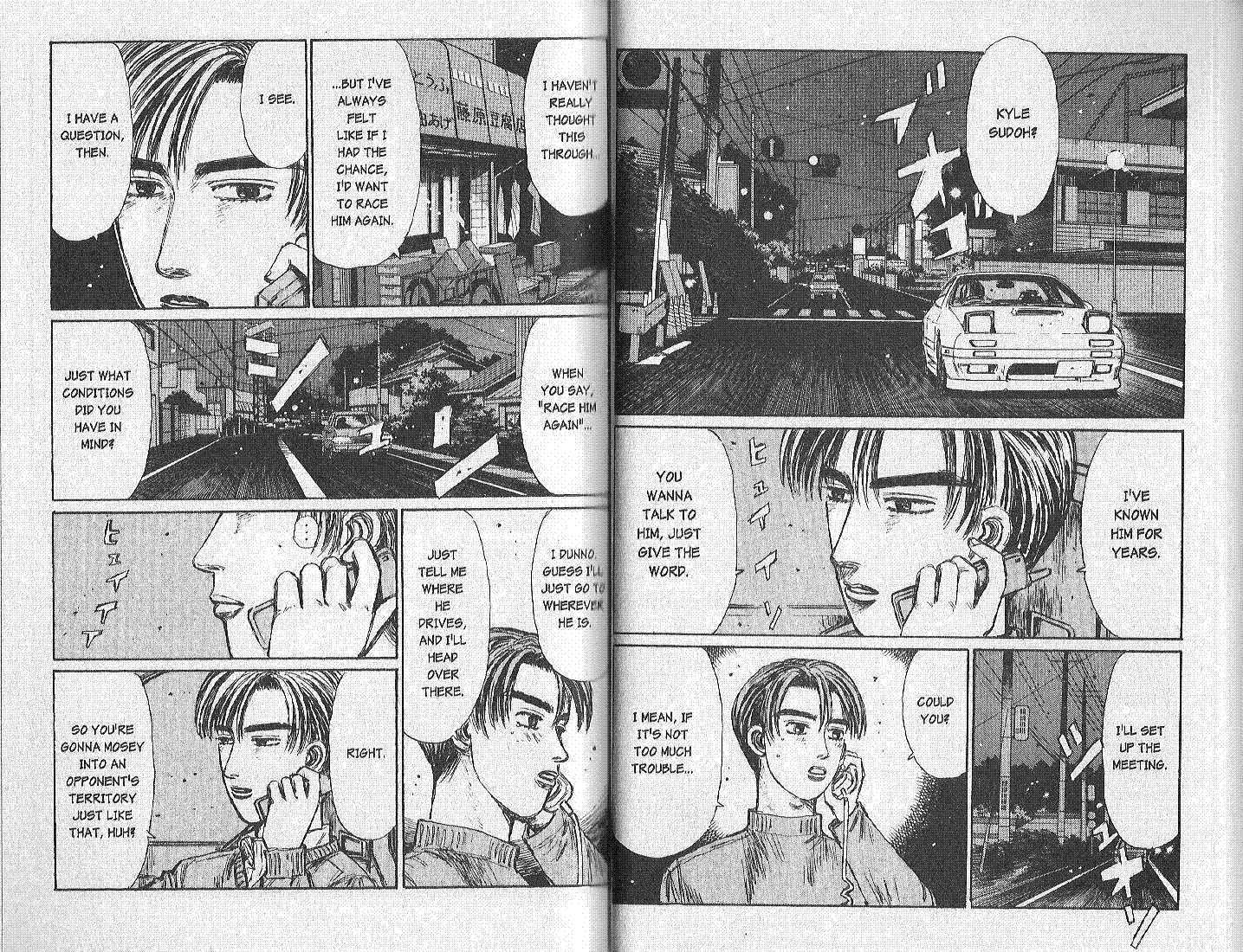 Initial D 148 Page 2
