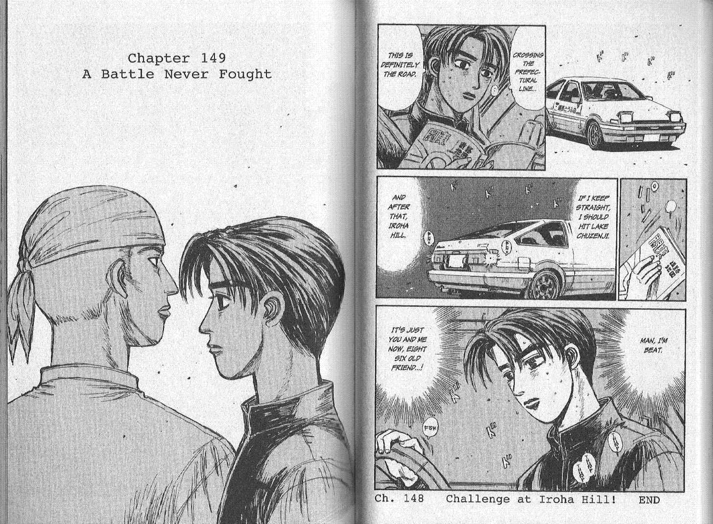 Initial D 149 Page 1