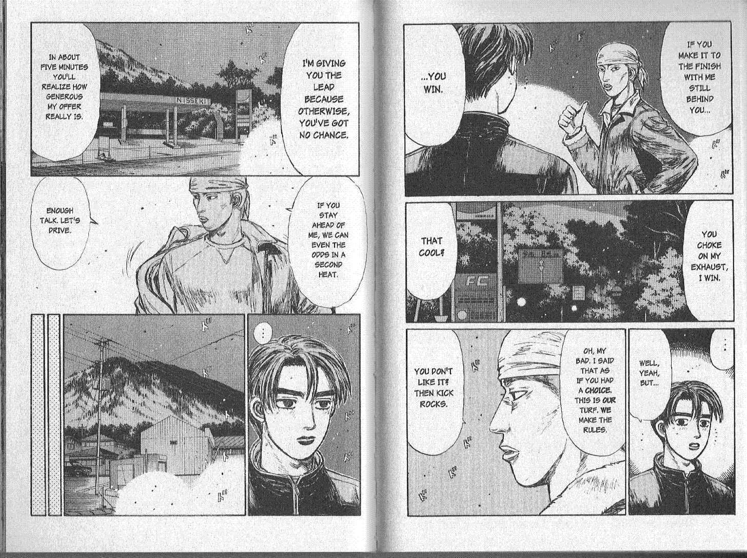Initial D 150 Page 1