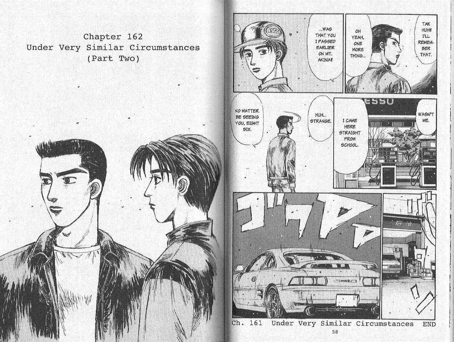 Initial D 162 Page 1