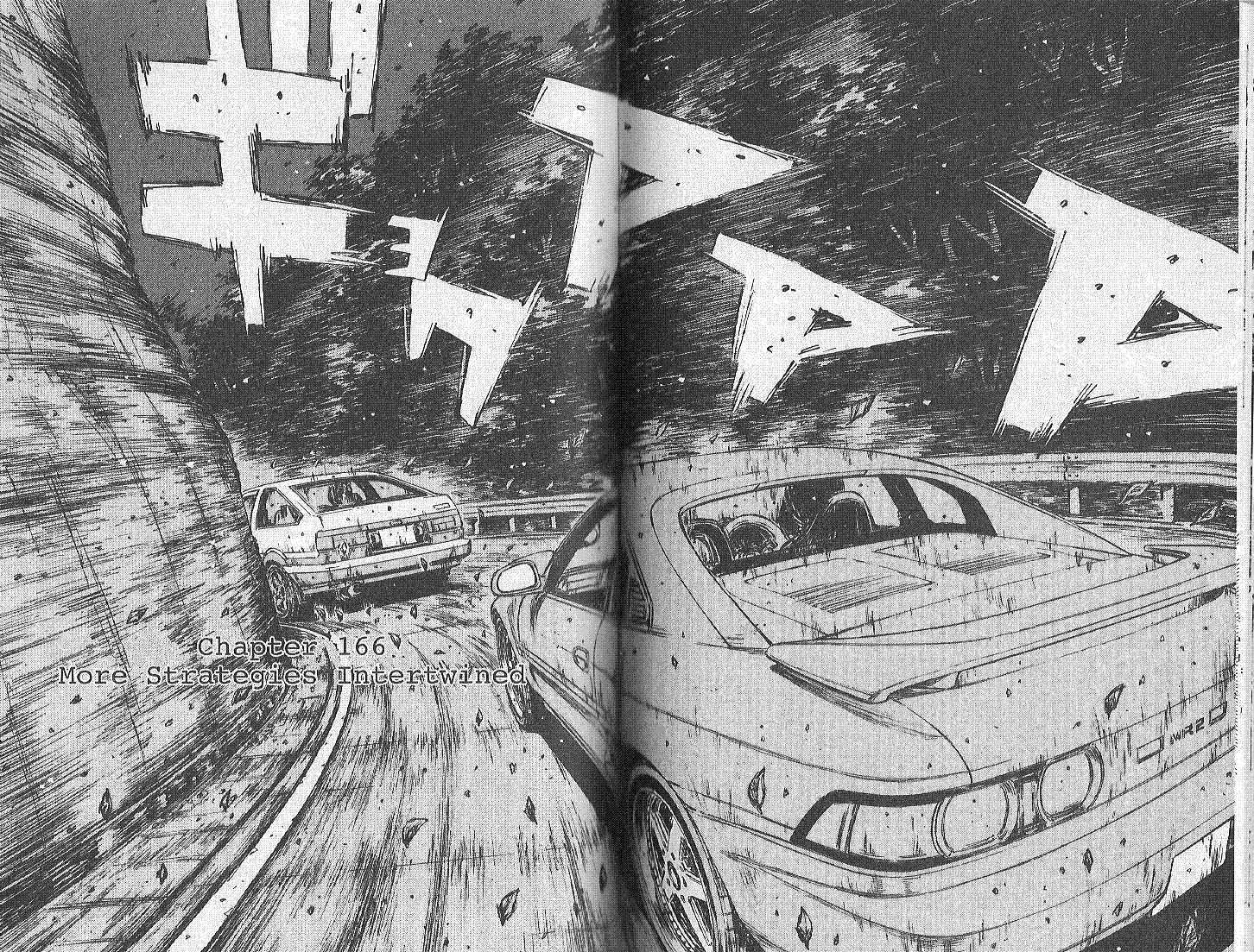 Initial D 166 Page 1