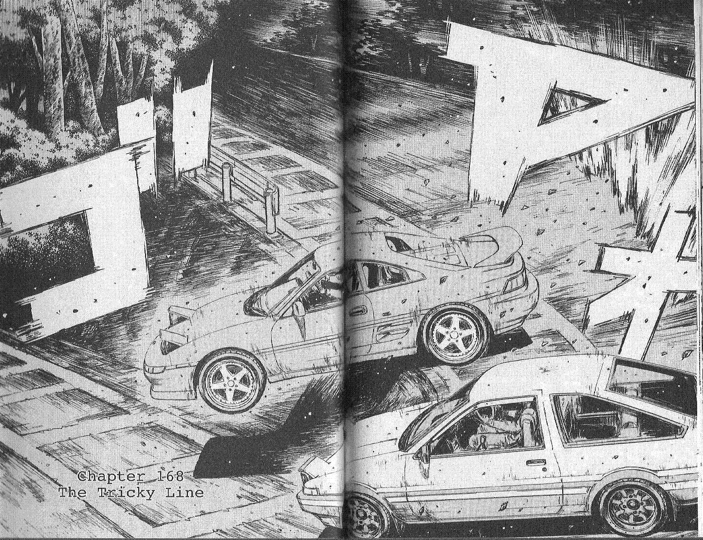 Initial D 168 Page 1