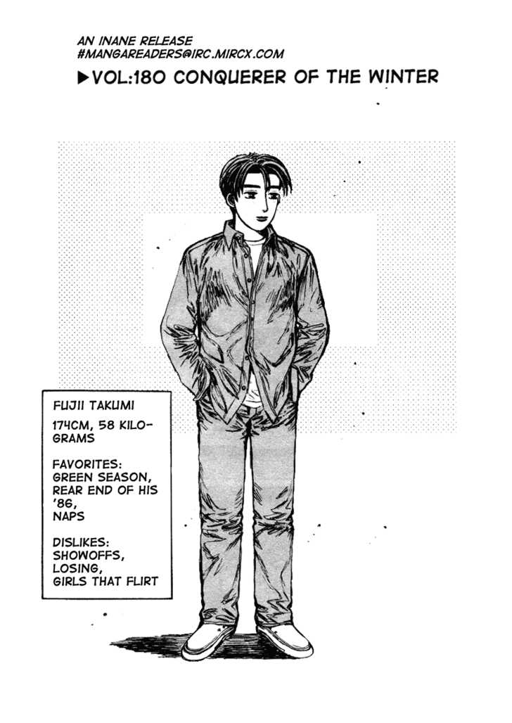 Initial D 180 Page 1