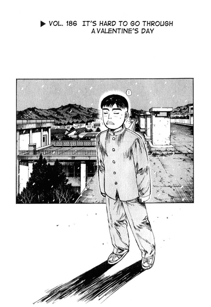 Initial D 186 Page 1
