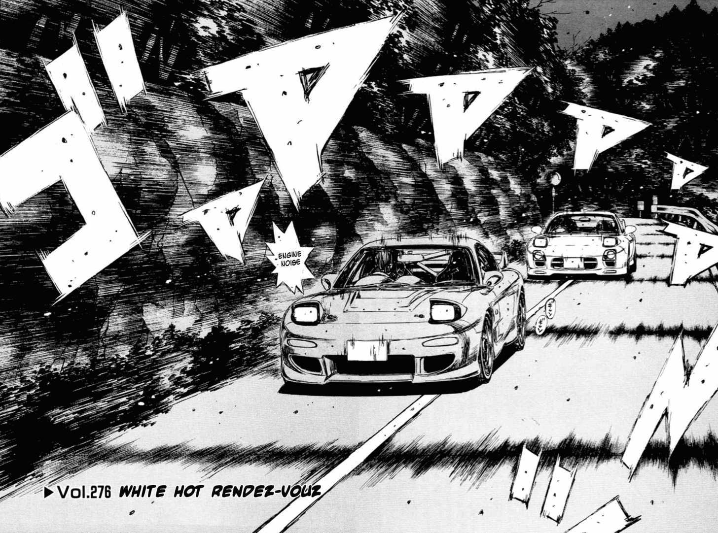 Initial D 276 Page 2