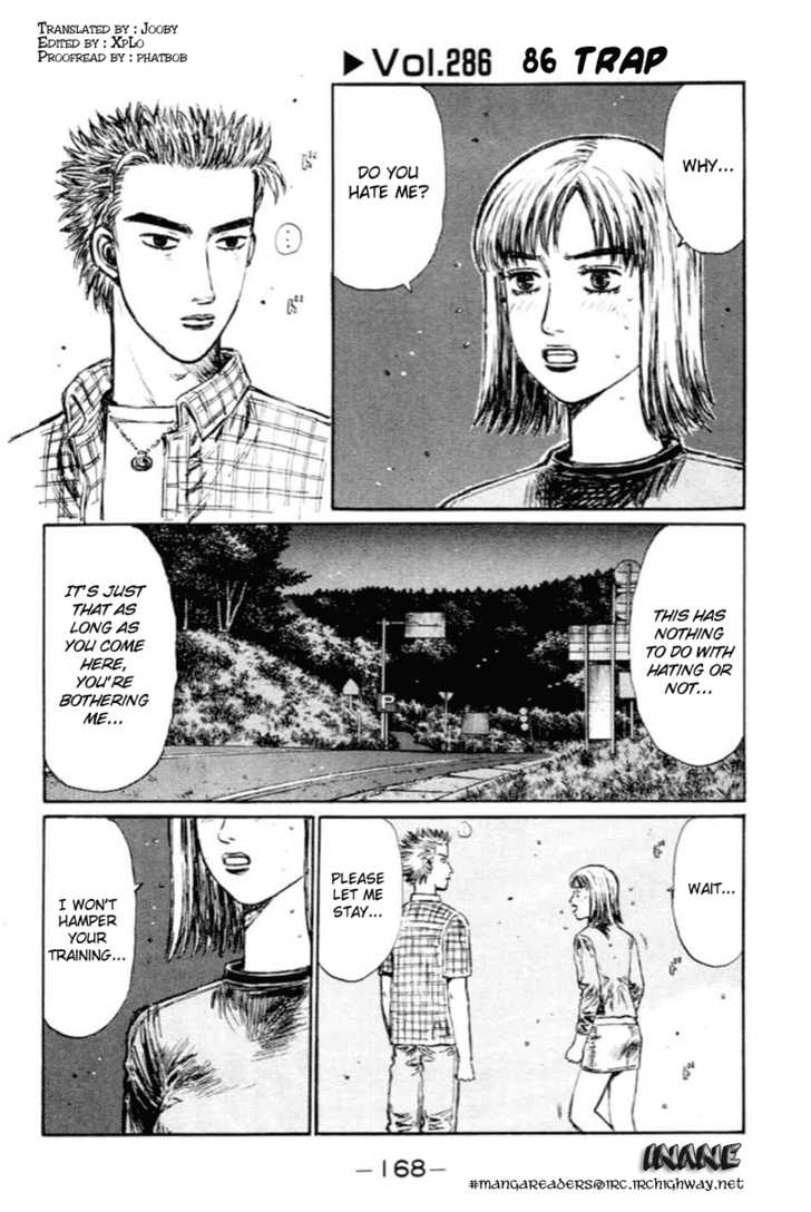 Initial D 286 Page 1