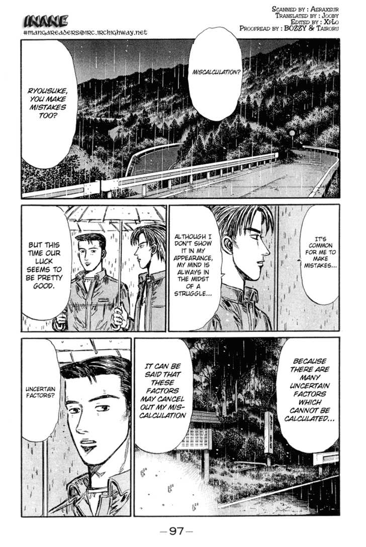 Initial D 296 Page 1