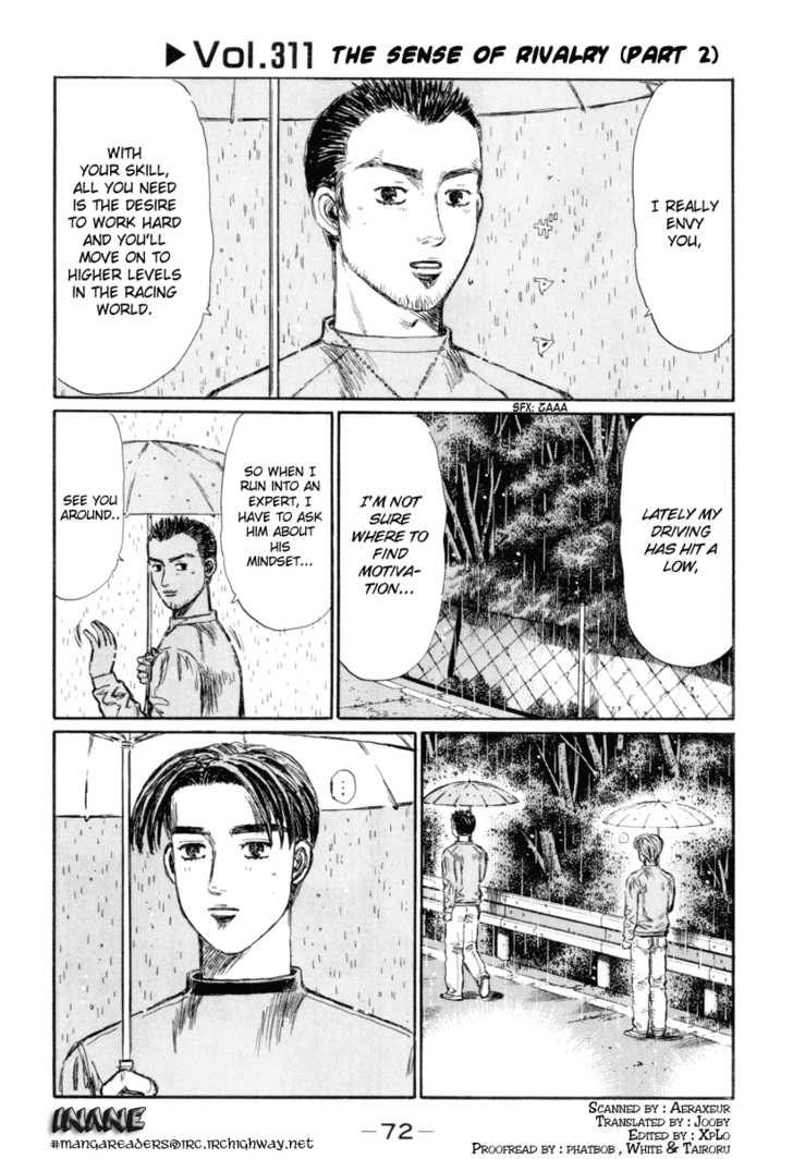 Initial D 311 Page 1