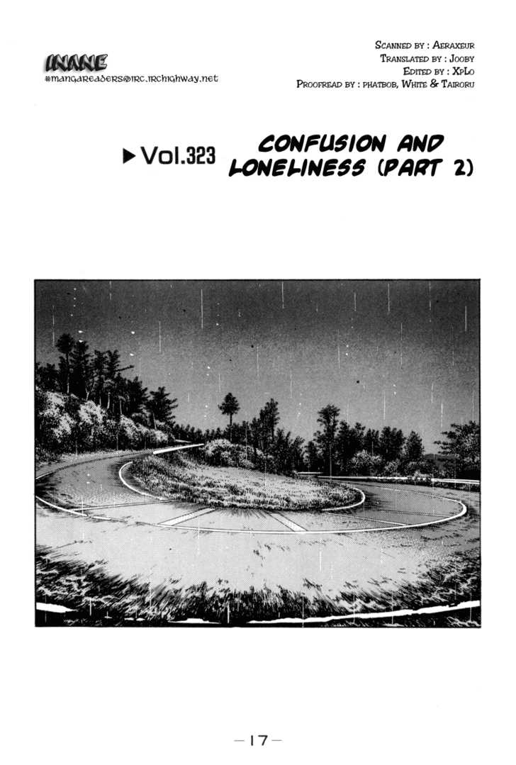 Initial D 323 Page 1