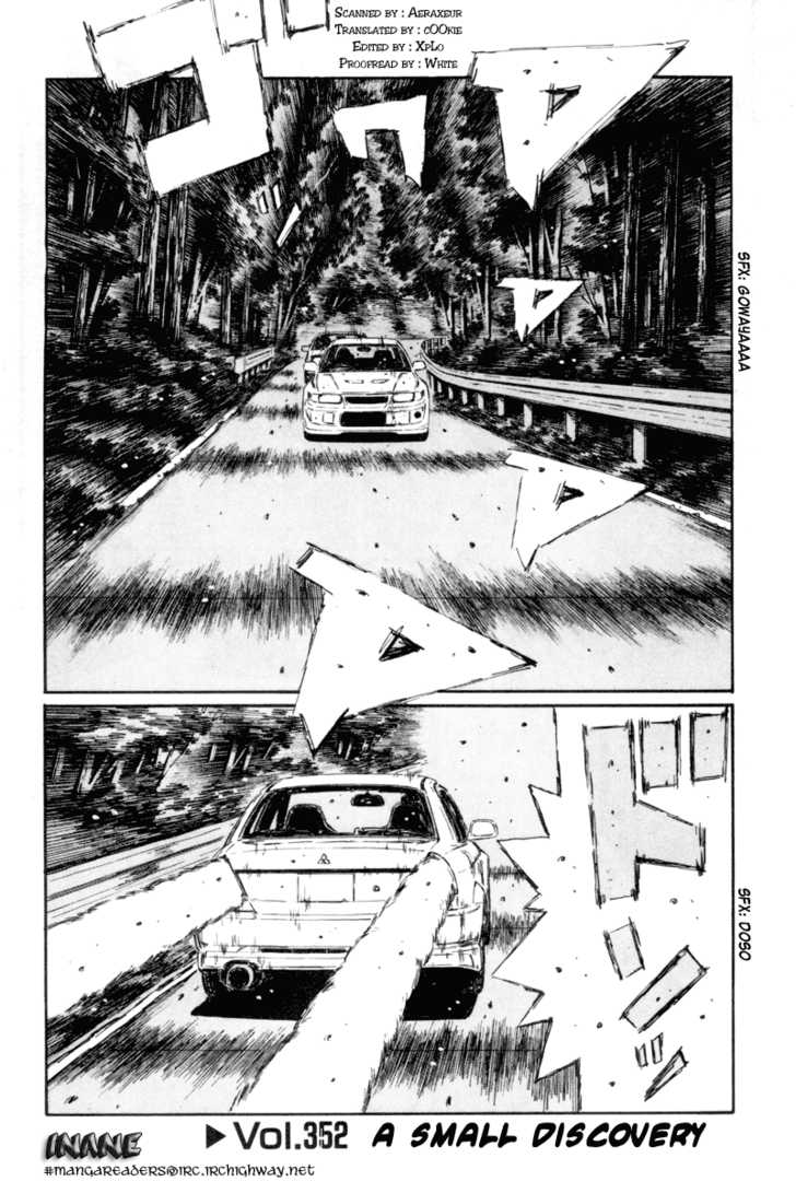 Initial D 352 Page 1