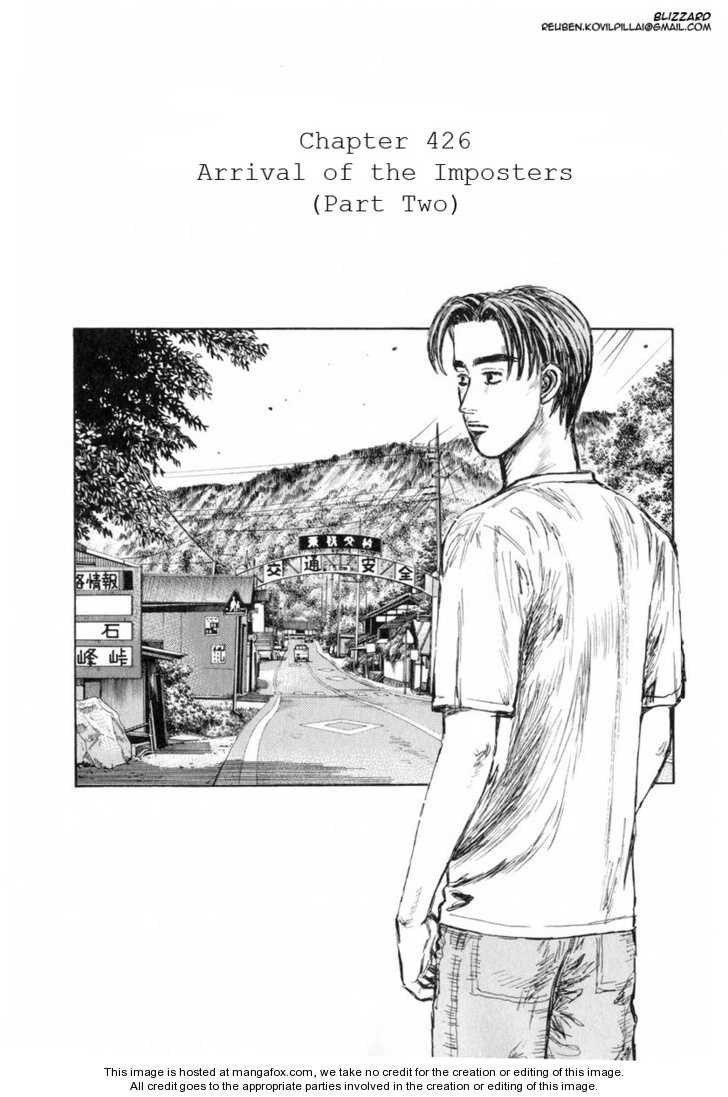 Initial D 426 Page 1