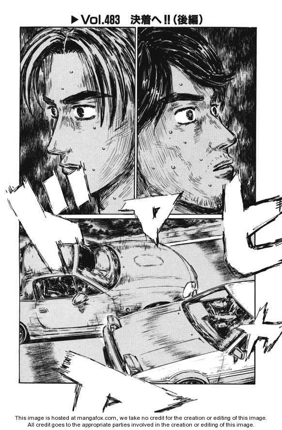 Initial D 483 Page 1